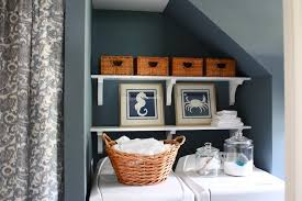 blue gray paint colorLaundry Room Paint Colors  Cottage  laundry room  Sherwin