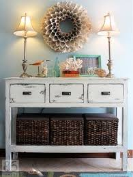 entryway furniture storage. 10 diy solutions for banishing entry table clutter entryway furniture storage