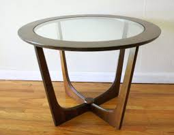 glass top side tables insert round table 1 for