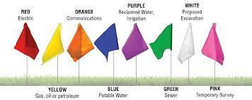 Apwa Uniform Color Code Chart Color Code