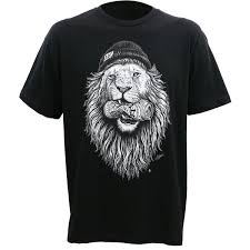 Alc Apparel Wild Tattoo Art Street Wear Slim Fit T Shirt S 3xl New T Shirts Man Clothing Top Tee Plus Size Ridiculous T Shirt Best T Shirts Sites From