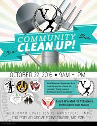 Community Clean Up Flyer Template Community Clean Up Template Postermywall