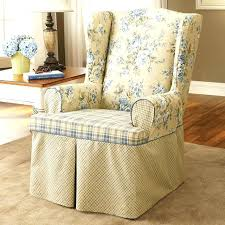 wing chair recliner slipcovers armchair covers um size of back chair covers in exquisite white fabric wing chair
