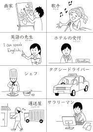 日本語教育用イラスト教材ができる Yukik Illust イラスト