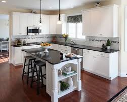white kitchen cabinets with black countertops. White Kitchen Cabinets And Black Countertops Stunning Countertop Pictures Home Design Ideas On Furniture With I