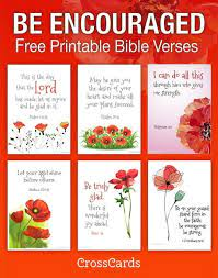5 free printable bible verses on thankfulness. Be Encouraged Free Printable Bible Verses Printable Download Free