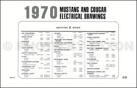 cougar wiring diagram image wiring diagram 1970 ford mustang mercury cougar factory wiring diagram original on 1970 cougar wiring diagram
