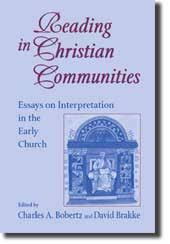 reading in christian communities books university of notre p00803