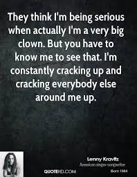 Lenny Kravitz Quotes QuoteHD Classy Serious Quotes