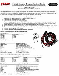 universal boat wiring harness mercury outboard wiring harness on mercury outboard external wiring harness