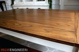 wood table tops canada 36 inch round top white wooden view solid oak farmhouse free easy plans kitchen remarkable elegant rogue engineer