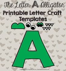 Letter A Template Printable Letter Craft Templates