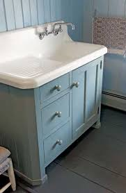 vintage kitchen sink cabinet. Modren Vintage An Old Kitchen Sink Makes A Nice Bath Lavatory Atop Country Cabinet By  Crown Point Cabinetry Inside Vintage Kitchen Sink Cabinet I