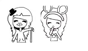 30 Images Of Chibi Template Bff Drawings 3 Canbumnet