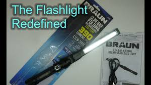 Braun Magnetic Slim Bar Led Work Light Braun Slim Bar Folding Rechargeable Led Light 63958 Why I