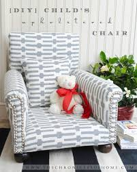 diy child s upholstered chair the chronicles of home