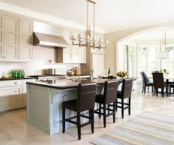 ... Open Kitchen Island Layout Open Kitchen With Large Island Workstation  Traditional Kitchen ...