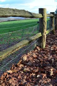 wooden farm fence. Download Wire Fencing On Wooden Farm Fence. Stock Photo - Image Of Wood, Fence O
