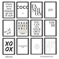 girl boss fashion wall art prints
