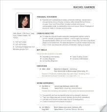 Good Resumes Templates Impressive Good Resume Templates Free Top Blockbusterpage Com Correiodigital