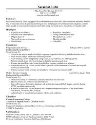 Security Resume Skills From Excellent Munication Skills Resume
