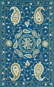 transitional blue green area rug mediterranean area rugs by loloi inc