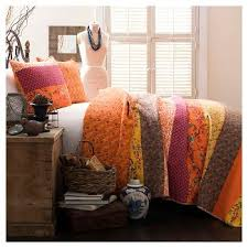Orange : Quilts : Target & Royal Empire 3 Piece Quilt Set - Lush Decor Adamdwight.com