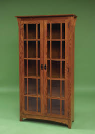 wood bookcase with doors brilliant bookcases garage ideas inside 22