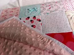 Lap Size Memory Blanket - Bunty's Basket Keepsakes & Lap Size Keepsake Memory Blanket made from baby clothes, minky fleece  backing Adamdwight.com