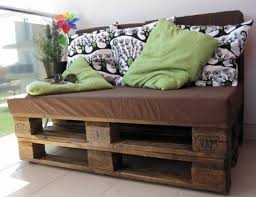 small sofa wooden pallets balcony furniture build yourself garden furniture set balcony furniture