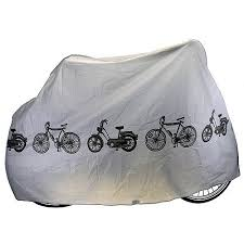 SAVFY Universal Outdoor Waterproof Cycle Bicycle Bike Cover Fully Rain  Resistant (Bicycle Cover - Grey