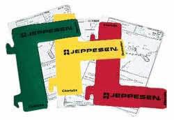 Jeppesen Chart Protectors Jeppesen Chart Tabs 1 500