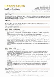 front desk agent resume sample 20 hotel front desk job description resume