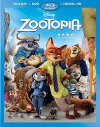 Zootopia (Blu-ray / DVD / Digital HD) | Phi vụ động trời, Disney, Phim  disney