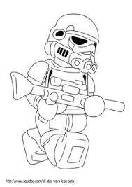 Star Wars Coloring Pages Stormtrooper Lego Verjaardagkaart Lego