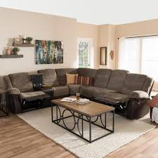 baxton studio robinson 4 piece contemporary taupe fabric upholstered l shaped sectional sofa 28862 7130 hd the home depot