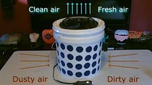 the 2 gallon bucket air filter ez diy 100 solar powered