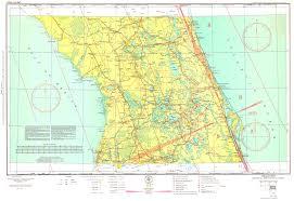 Magnetic Variation Sectional Chart Orlando Sectional Aeronautical Chart 1935