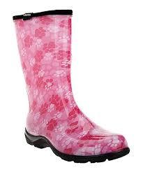 Sloggers Size Chart Sloggers Pink Paw Print Waterproof Rain Boot