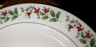 Gibson, Christmas Charm China Replacements