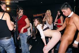 Strip club hardcore party