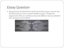 the early cold war years ppt video online  essay question