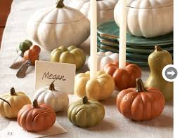 fall wedding place card holders. pottery barn, $15.95. budget-fall-pumpkin-candle-holde.jpg. heirloom pumpkin place card holders fall wedding