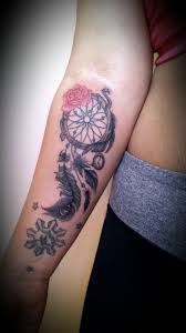 Cute Dream Catcher Tattoos Collection of 100 Lovely Dream Catcher Tattoo On Forearm 85