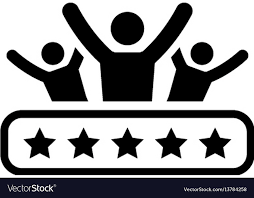 Client Satisfaction Icon Flat Design