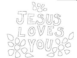 Jesus Loves Me Coloring Pages Homelandsecuritynews