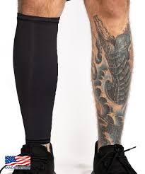Tattoo Cover Calf Sleeve Black