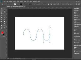 This is a technique that comes in handy when making. Drawing Curves With Pen Tool In Photoshop Youtube