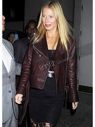 gwyneth paltrow motorcycle leather jacket
