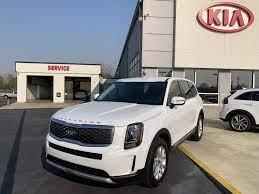 2020 Kia Telluride Lx Snow White Pearl Kia New Suv Dream Cars